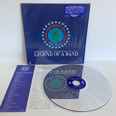 Moody Blues: Legend of a Band | MCMXC The Story of | Japan Laserdisc: Near Mint