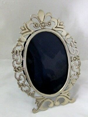 Solid Silver  PICTURE FRAME  Hallmarked possibly Italian