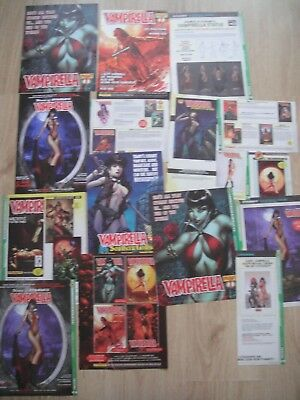 Vampirella Comics ~ Cuttings Clippings ~ Unusual Rare