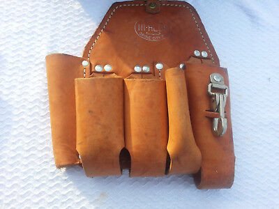 Bashlin 111HLDS Linemans Holster 5 tool pouch FREE SHIPPING