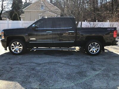 2015 Chevrolet Silverado 1500 Crew Cab High Country 4x4 2015 Chevrolet Silverado Crew Cab 1500 high country 4X4