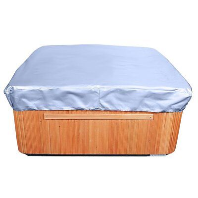 "Spa Cover Square Hot Tub Cover, Slate Blue 14"" High x 94"" Wide x 94"" Long"