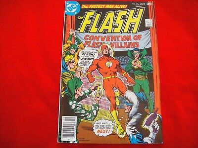 The Flash #254 ~ Oct 1977 ~ Dc Comics ~ The Rogues Gallery Appearance ~ Nm