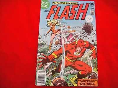 The Flash #257 ~ Jan 1978 ~ Dc Comics ~ The Golden Glider  Appearance