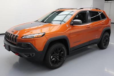 2015 Jeep Cherokee  2015 JEEP CHEROKEE TRAILHAWK 4X4 PANO SUNROOF NAV 63K #528177 Texas Direct Auto