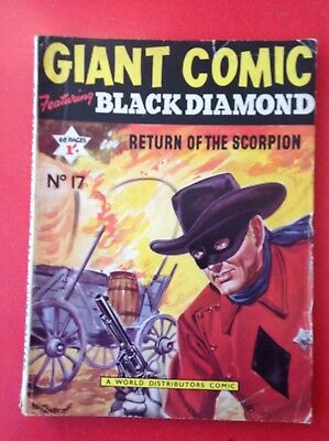giant Comic featuring black diamond no17 by WDC infine- condition