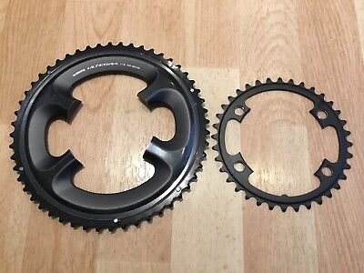 Shimano Ultegra 6800 52-36 11 Speed Double Chainrings