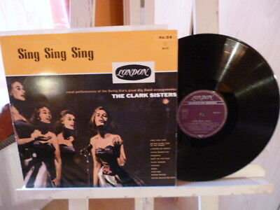 The Clark Sisters - Sin Sing Sing - London Records