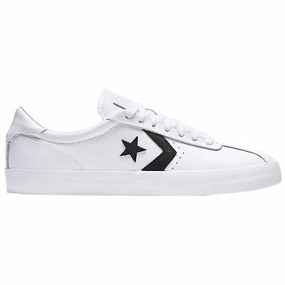 Converse Breakpoint Ox White Black Men Leather Low-Top Lace-up Sneakers  Trainers 550b87efa
