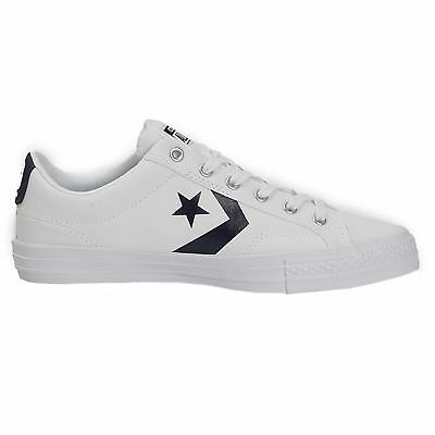 b9ad12fa605258 CONVERSE STAR PLAYER Ox White Athletic Navy Mens Trainers Unisex New ...