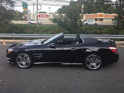 2013 Mercedes-Benz SL-Class SL63 AMG SUPER LOW MILEAGE VERY CLEAN 2013 MERCEDES SL63 AMG SUPER CLEAN SUPER LOW MILEAGE MAGIC SKY VERY RARE