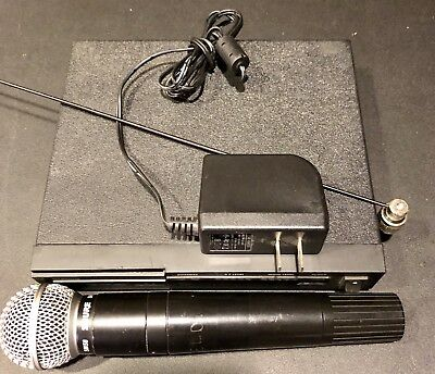 Shure Wireless VHF SC4  Microphone Receiver & SM58 L-2 Transmitter 171.105 TB-AG