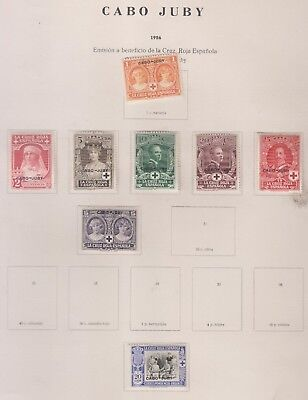 SPAIN  Cabo Juby     *   Ed. Lot aus 1926  +  Beneficia..