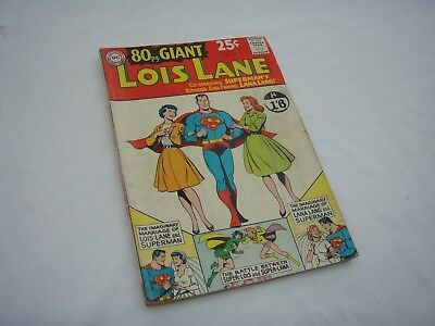 Rare Lois Lane 80 Page Dc Comic. Issue No 3. 1964. Vg Condition.