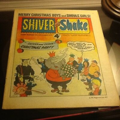 Shiver and shake comic no.43 very good condition