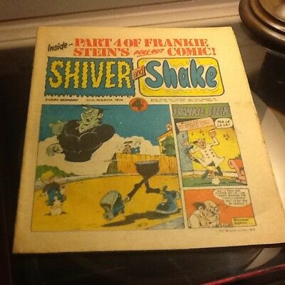 Shiver and shake comic no.56 very good condition