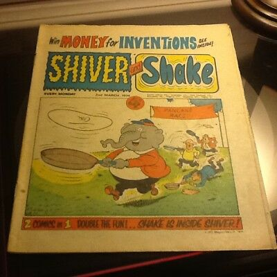 Shiver and shake comic no.52 very good condition