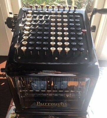 Burroughs Adding Machine-great for CPA, bank, any business display or movie prop
