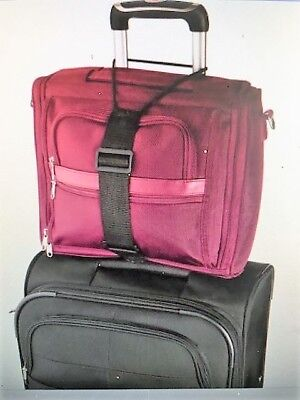2-Pk Secure-A-Bag Bungee Strap American Tourister Carry-Ons, Baggage, Suitcases