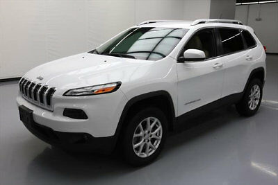 2015 Jeep Cherokee  2015 JEEP CHEROKEE LATITUDE 4X4 REAR CAM BLUETOOTH 31K #524773 Texas Direct Auto