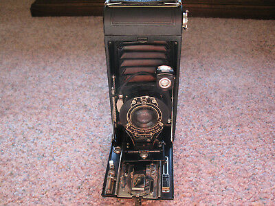 Vintage Eastman Kodak No.1A Pocket  Folding  Camera A116 Film With Case