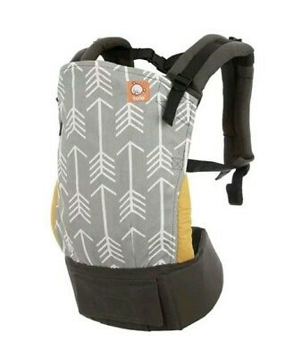 TULA Baby Carrier Archer New Ergonomic Machine Wash Toddler Gray Arrows