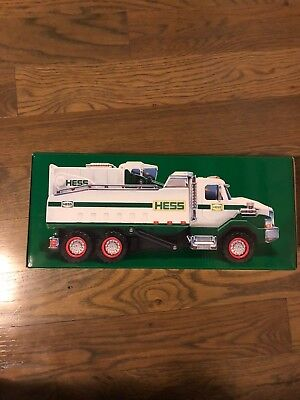 2017 Hess Dump Truck And Loader Brand New In Box Nib Unopened Sold Out!