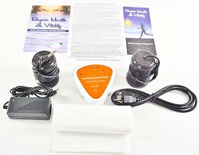 Ion Detox Ionic Detox Foot Bath Spa Chi Cleanse Unit for Home Use. #1 BEST