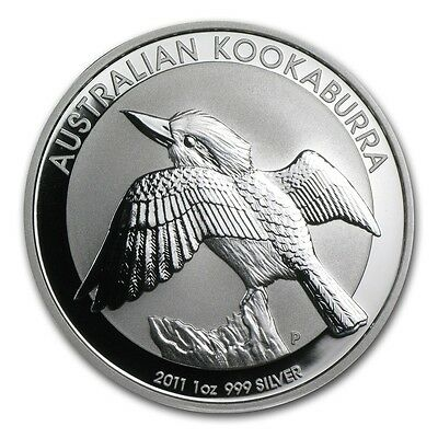 2011 Australia 1 oz Silver Kookaburra (from mint roll)