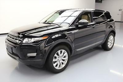 2015 Land Rover Evoque Pure Sport Utility 4-Door 2015 LAND ROVER EVOQUE PURE AWD TURBO NAV REAR CAM 35K #072919 Texas Direct Auto