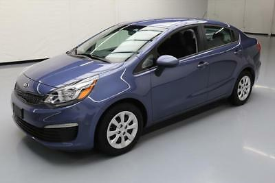 2016 Kia Rio  2016 KIA RIO LX GDI AUTOMATIC BLUETOOTH CD AUDIO 24K MI #688493 Texas Direct