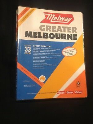Melway Edition 33, 2006