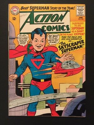 Action Comics 325 Silver Age Superman VF