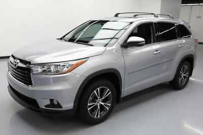 2016 Toyota Highlander  2016 TOYOTA HIGHLANDER XLE 8-PASS SUNROOF NAV 37K MILES #122026 Texas Direct