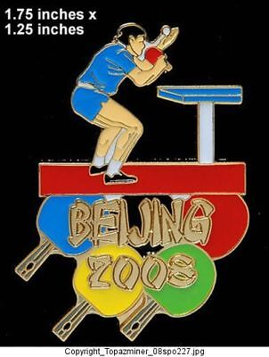 OLYMPIC PIN BEIJING 2008 SPORT RUNNING LE GOLD 1//100