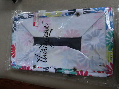 THIRTYONE Thirty one Gifts DELUXE UTILITY TOTE Bloomin' Bouquet BRAND NEW