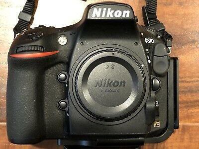 Nikon D D810 36.3MP Digital SLR Camera (Body Only with Extra Accessories)