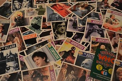 138 ORIGINAL BBC Doctor Who CCI 1996 Trading Cards Game RARE Set SCI-FI MINT Old