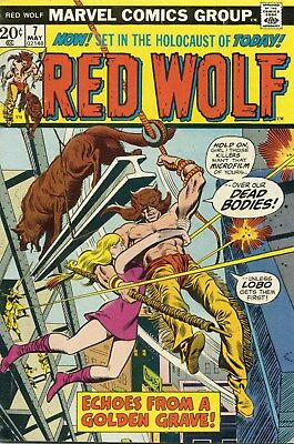 Red Wolf #7 - May,1973 - Fine  (Red Wolf becomes Super-Hero)