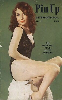 Rare 50s or 60s UK pin-up magazines (5) for German market Pin Up International