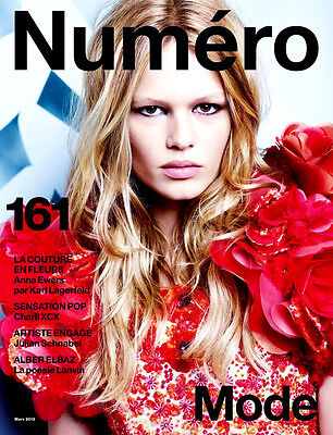 NUMERO Magazine March 2015 #161 ANNA EWERS Izabel Goulart Catherine McNeil