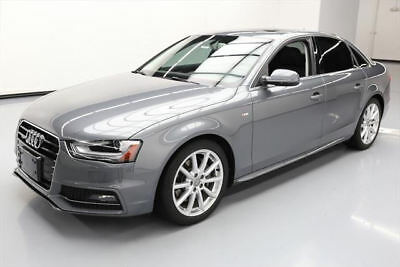 2014 Audi A4 Base Sedan 4-Door 2014 AUDI A4 2.0T QUATTRO PREM PLUS AWD SUNROOF NAV 38K #039157 Texas Direct
