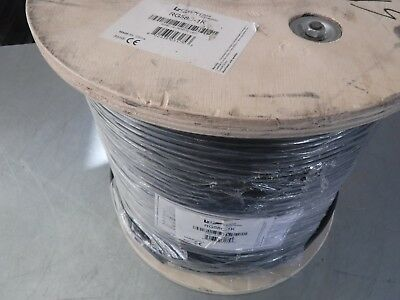 New 1000' L-Com Rg58C-1K 50 Ohm Coax Cable 20 Awg Stranded Center Cond. Rg58C/u