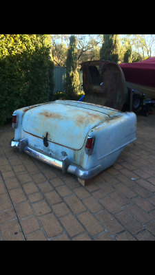 FC Holden rear cut to make lounge, with boot lid, taillights,bumper,