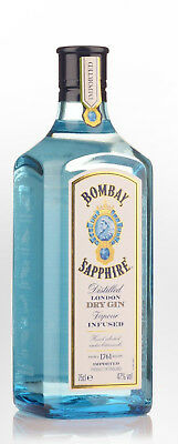 Bombay Sapphire 47% London Dry Gin (750ml) Bombay Not Local 40%