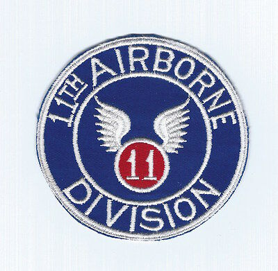 World War II to 1950's US Army 11th Airborne Division pocket patch