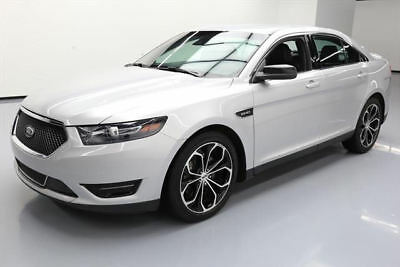 2015 Ford Taurus SHO Sedan 4-Door 2015 FORD TAURUS SHO AWD ECOBOOST NAV VENT LEATHER 32K #186683 Texas Direct Auto