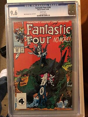 Fantastic Four # 345 CGC 9.6 White Pages