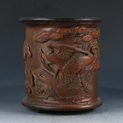 Old Chinese Handicraft art , The Pen Container  EP0002