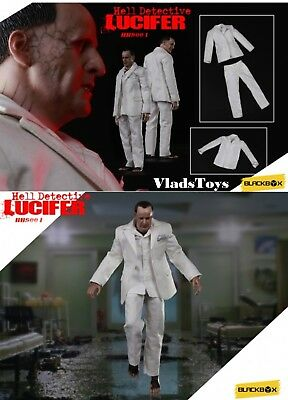 BLACKBOX Feet GUESS ME HELL DETECTIVE LUCIFER 1//6 Action Figure Toys did dam